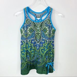 Athleta | racerback tank top size XS